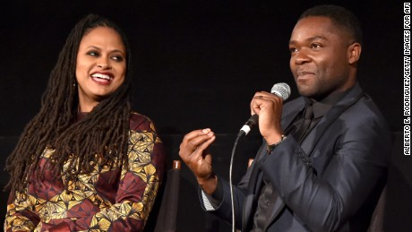 """Selma"" director Ava DuVernay and actor David Oyelowo."
