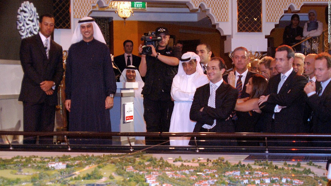 One of the first projects Woods announced was the Al-Ruwaya course, based in Dubai. That subsequently stalled in the wake of the financial downturn of 2008, though it was recently announced he had teamed up with Donald Trump to start another project in the Emirate.