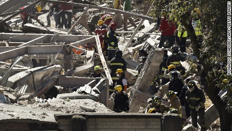 Search continues for victims among hospital rubble