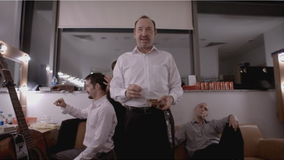 """""""Now: In the Wings on a World Stage"""" (2014): Kevin Spacey and Sam Mendes give a peek behind the scenes of their staging of """"Richard III"""" with the Bridge Project Company. (Netflix)"""