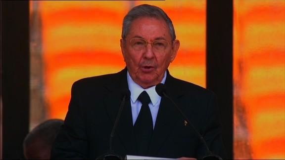 Raul Castro is making big demands of the U.S.