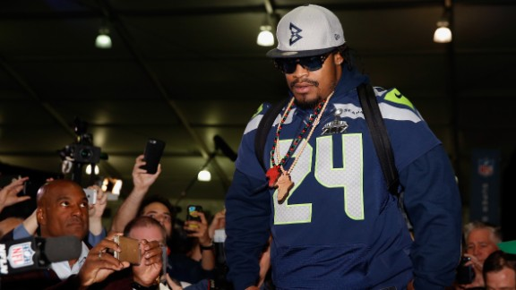 Marshawn Lynch could reunite with the Seattle Seahawks.