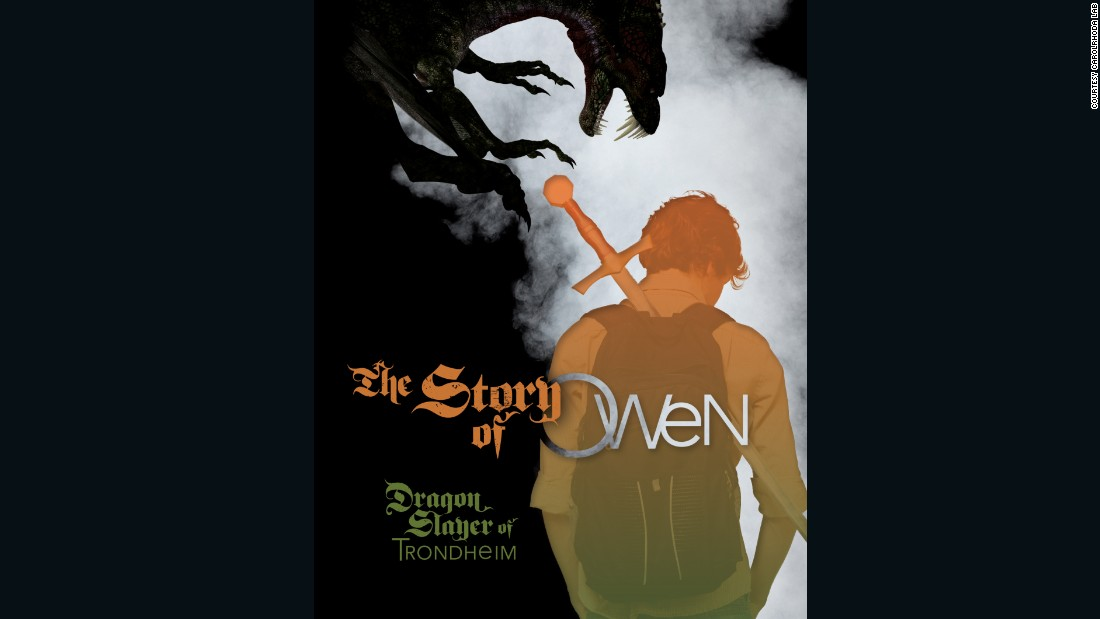"""The Story of Owen: Dragon Slayer of Trondheim"" by E.K. Johnston (Carolrhoda Books)"