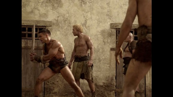"""""""Spartacus"""" (Complete series): The early life of a gladiator who went on to lead a slave uprising is fictionalized in this Starz series. (Netflix)"""