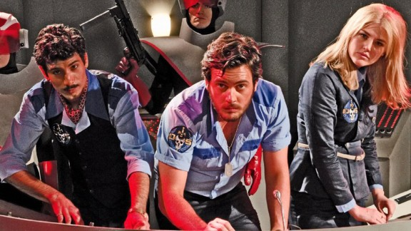 """""""Danger 5"""" (Season 1): This Australian action comedy series follows a group of international spies on a mission to kill Hitler. (Netflix)"""