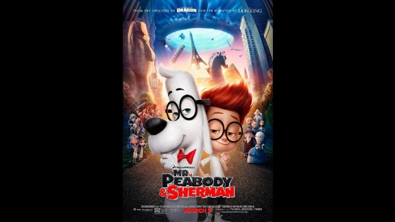 """""""Mr. Peabody & Sherman"""" (2014): The beloved animation gets a modern update in this film about a time-traveling canine and his adopted son. (Netflix)"""