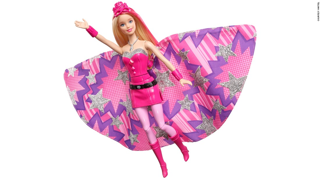 In 2015, Barbie will transform for the first time into a superhero: Super Sparkle. Mattel announced Barbie's latest look at the Nuremberg Toy Fair in Germany in January. Look back at some of Barbie's professions through the years.