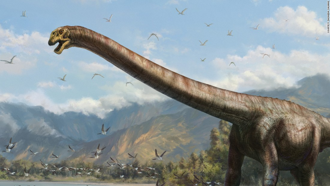 50 ft dragon dinosaur unearthed by chinese farmers cnn