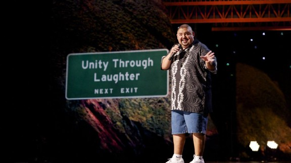 """""""The Fluffy Movie: Unity Through Laughter"""" (2014): Gabriel """"Fluffy"""" Iglesias hares his tale in his comedy stand-p special. (Netflix)"""