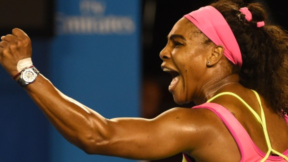 Williams drew first blood and set the tone by breaking in the first game. It was the worst start for Sharapova, who had lost 15 in a row to Williams.