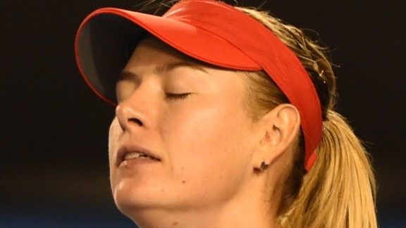 When Williams won the first set, it spelled trouble for Sharapova.