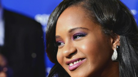 Whitney Houston's daughter in a coma