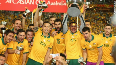 Australia won their first Asian Cup since joining the AFC in 2005 87e51aa03