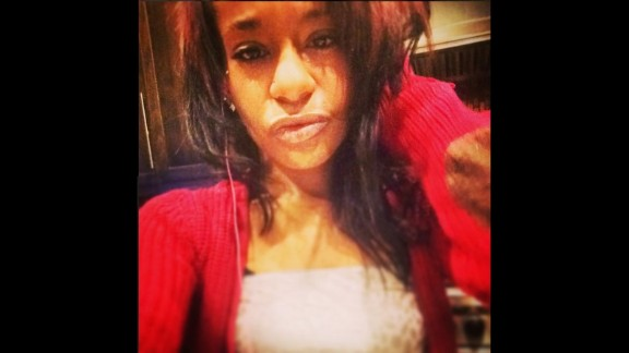 Bobbi Kristina Brown is seen in a photo she posted to Instagram around 2 a.m. EST on Saturday, January 31.