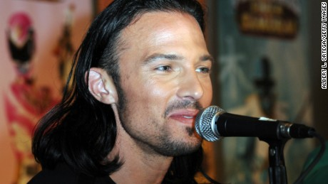 "Actor Ricardo Medina Jr., seen here at a 2012 fan convention, appeared in ""Power Rangers Samurai."""