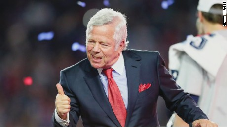 Robert Kraft: Super Bowl win 'very, very special'