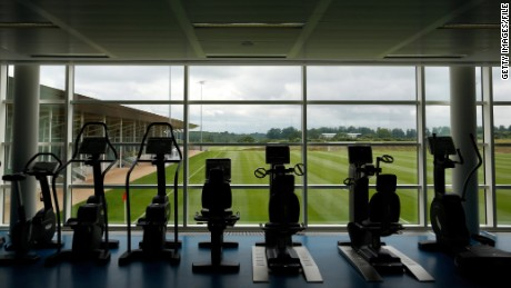 The impressive facilities at the St. George's Park training complex.