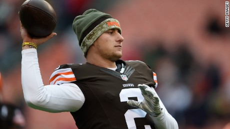Johnny Manziel's time in Cleveland may be coming to an end, according to multiple reports.