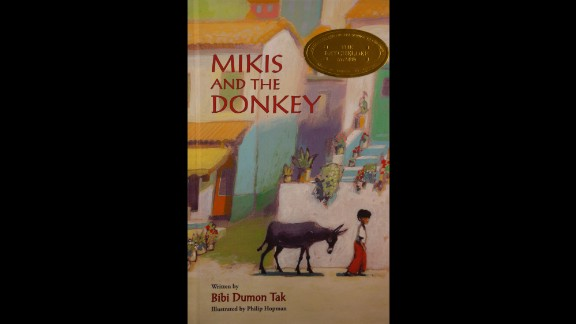"""""""Mikis and the Donkey,"""" written by Bibi Dumon Tak and illustrated by Philip Hopman, is the 2015 Batchelder Award winner."""