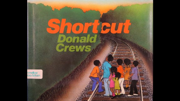 """Author Donald Crews, whose books include """"Shortcut,"""" won the Laura Ingalls Wilder Award for his substantial and lasting contribution to literature for children."""