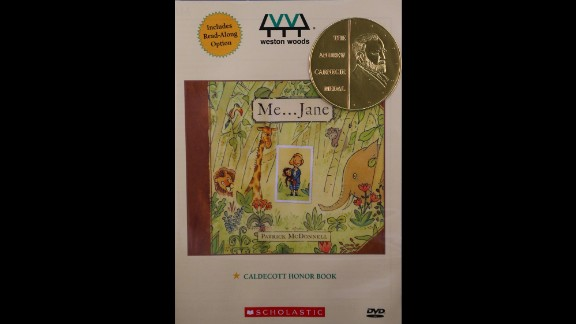"Paul R. Gagne and Melissa Reilly Ellard, Weston Woods Studios Inc., producers of ""Me ... Jane,"" are the Carnegie Medal winners."