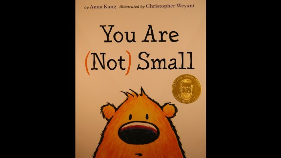 """""""You Are (Not) Small,"""" written by Anna Kang and illustrated by Christopher Weyant, is the Seuss Award winner."""