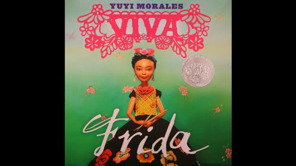 """Viva Frida,"" written and illustrated by Yuyi Morales, is the Pura Belpré Illustrator Award winner."