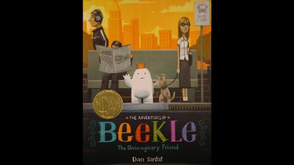 """The Adventures of Beekle: The Unimaginary Friend,"" illustrated by Dan Santat, is the 2015 Caldecott Medal winner."