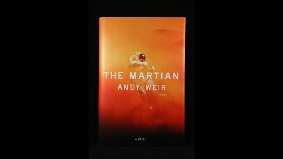 """""""The Martian,""""  by Andy Weir."""