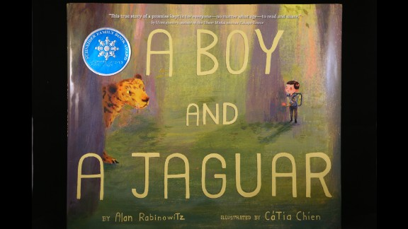 """""""A BOY AND A JAGUAR"""" written by Alan Rabinowitz and illustrated by Catia Chien, wins the Schneider Family Book Award for children ages 0 to 10."""