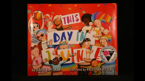 """""""This Day in June,"""" written by Gayle E. Pitman, Ph.D. and illustrated by Kristyna Litten, is the winner of the 2015 Stonewall Children's & Young Adult Literature Award."""