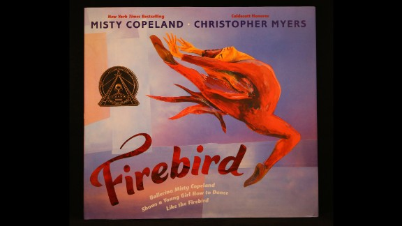 """Firebird,"" illustrated by Christopher Myers, is the Coretta Scott King Illustrator Book winner."