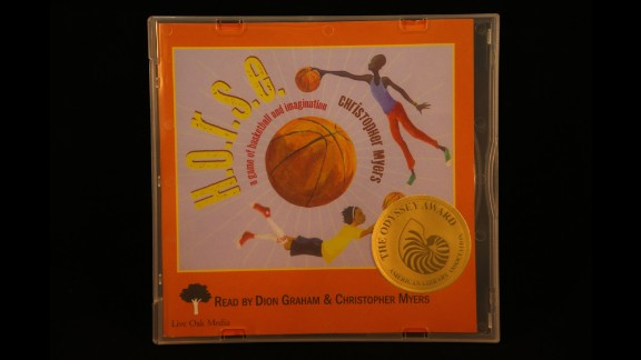 """""""H. O. R. S. E:. A Game of Basketball and Imagination,"""" produced by Live Oak Media, is the 2015 Odyssey Award winner."""