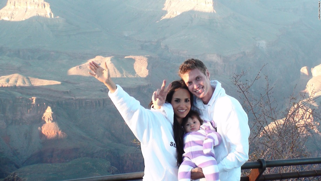 Mark and Ismini visited the Grand Canyon with their daughter Rafeala, while performing acts of kindness in Arizona.