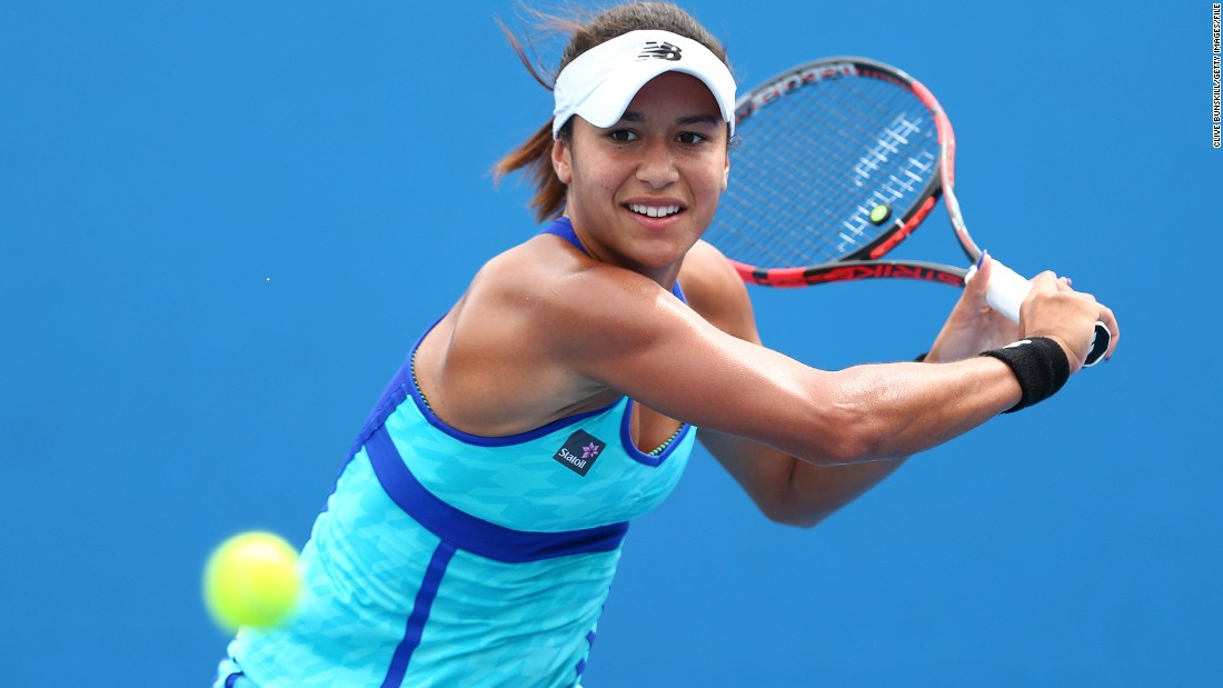 "British number one tennis player, Heather Watson, lost her first round of the Australian Open last month after complaining of felling ""light-headed."" She put her poor performance down to ""girl things,"" sparking a global debate about menstruation in sport"