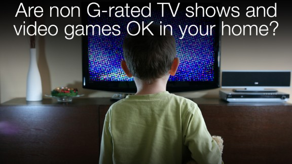 Is the television or video game console on or off during your playdates? And what
