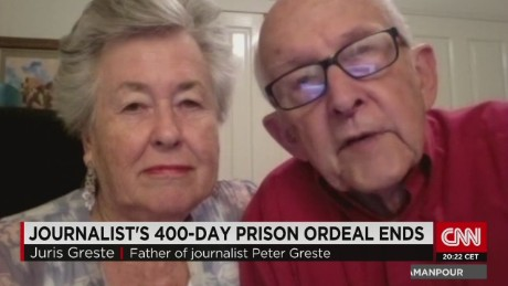 'None of our lives will be the same' say Greste parents