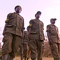 Uganda Ziwa Sanctuary rangers rhino protection
