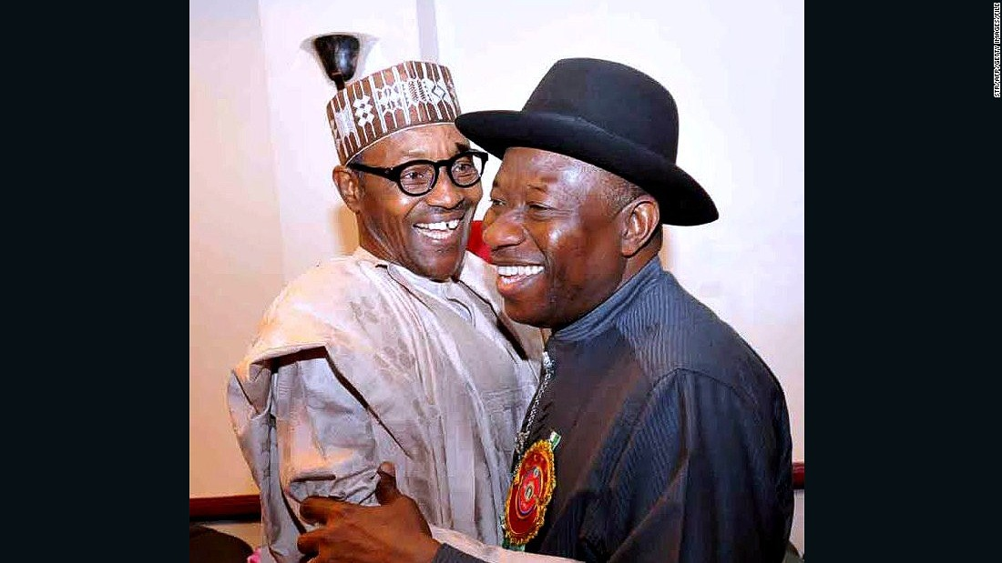 The elections on March 28 will see president Goodluck Jonathan (R) face off against presidential candidate Muhammadu Buhari from the All Progressive Congress party.