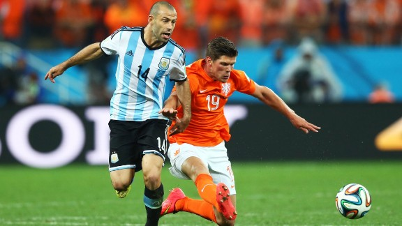 It sometimes feels as though nothing is out of bounds when discussing the physical and mental conditions of elite athletes. Argentine footballer Javier Mascherano (left) didn