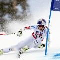 ski worlds vonn super g skiing
