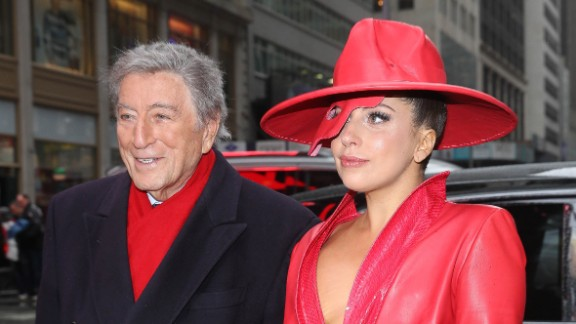 """Tony Bennett and Lady Gaga may seem strange musical bedfellows, but they are scheduled to perform Sunday at the 57th Annual Grammy Awards. Their collaborative album """"Cheek to Cheek"""" has been nominated for best traditional pop vocal album. Here are some other interesting musical duos from the past:"""