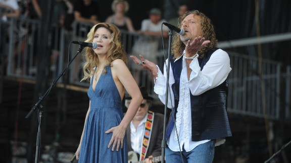 """The bluegrass singer Alison Krauss and rocker Robert Plant came together for the 2007 album """"Raising Sand."""" In 2009 the project won the album of the year Grammy."""