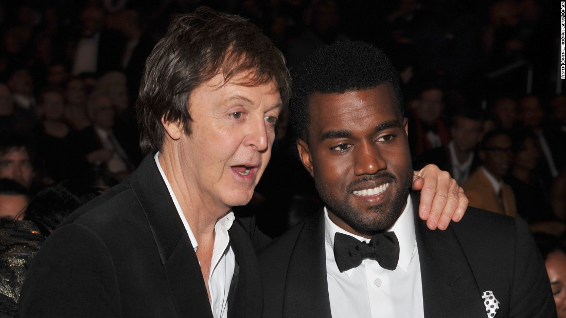 "More than a few folks scratched their heads when it was announced that Paul McCartney was working with Kanye West on the rapper's single, ""Only One."" The pair performed with Rihanna at the 2015 Grammys."