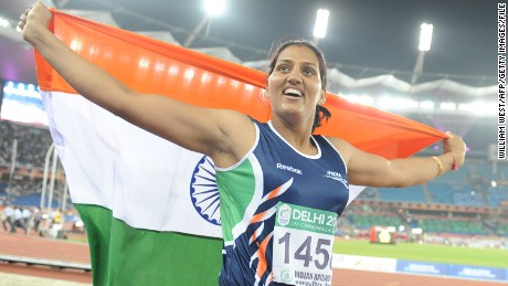 India's record-breaking discus thrower