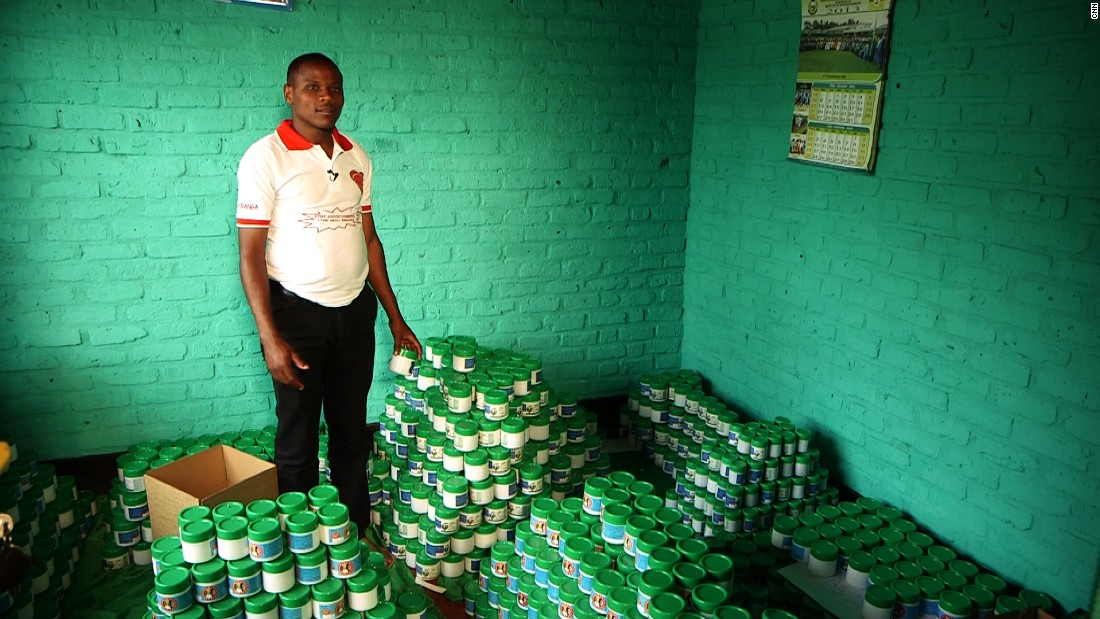 Rwandan science teacher Cephas Nshimyumuremyi started his skincare business,  Uburanga Products, with just ten dollars. He uses local medicinal plants to make herbal soaps and jellies.