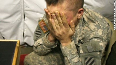 A weary Smith discussed the act of killing in his battalion chaplain's tent in Iraq.