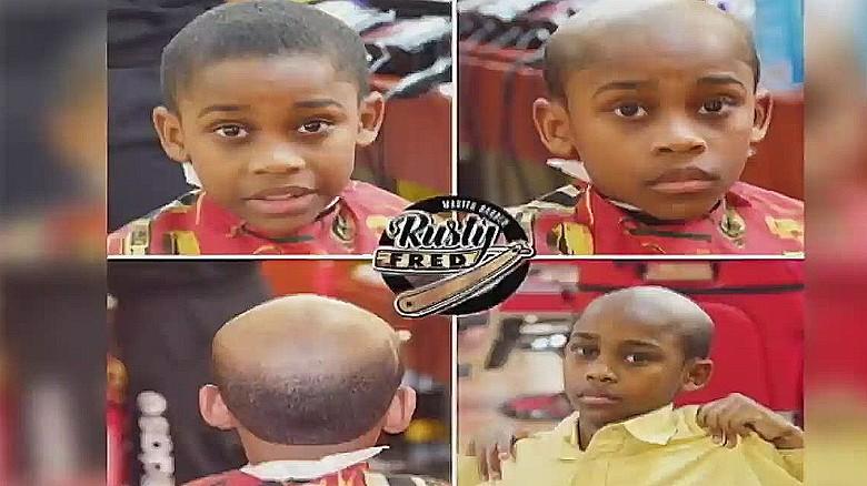 Try Old Man Haircut For Misbehaving Kids Cnn