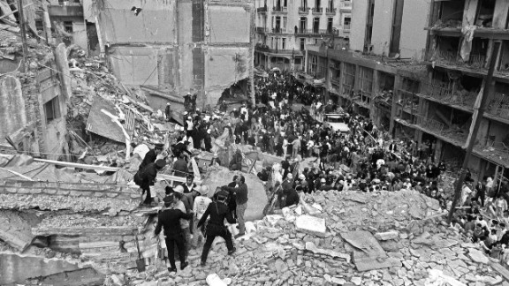 The bombing of the Argentine Israelite Mutual Association (AMIA) building in Buenos Aires on July 18, 1994, is the deadliest terror attack in the country's history. Eighty-five people were killed.