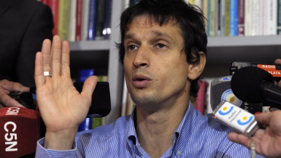 Diego Lagomarsino is the man who gave Nisman the gun that ended the proescutor's life. Lagomarsino has been charged with illegally letting Nisman borrow the weapon. He says the prosecutor was fearing for his life and didn't trust his security team and that is why he asked to borrow the weapon.